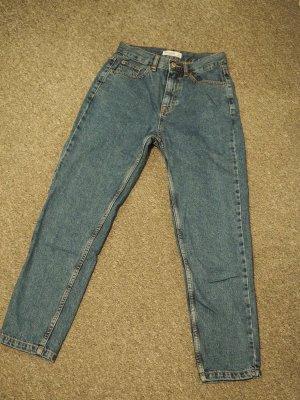 Pull & Bear Mom-Jeans blue