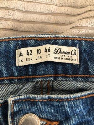 / Jeans baggy bleu foncé-bleu
