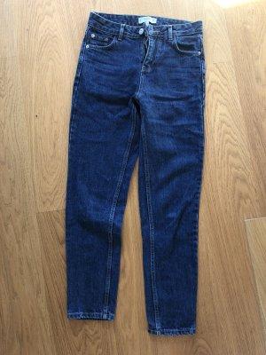 Mango Jeans a carota blu scuro