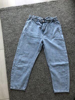 Zara Baggy broek azuur