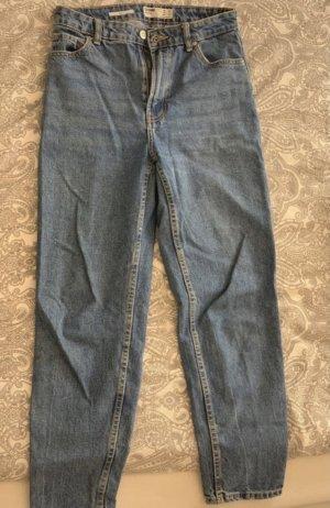 Bershka Mom-Jeans steel blue