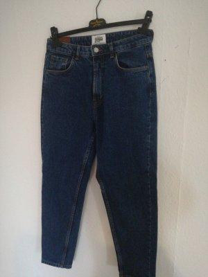 TRF Denim Jeans a vita alta blu scuro