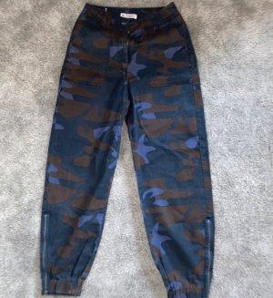 Pull & Bear Pantalone largo multicolore
