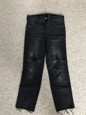 Mom Jeans Destroyed Look Gr. 34 Divided