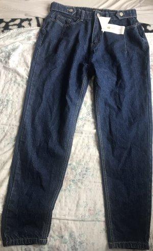 I saw it first Mom-Jeans dark blue