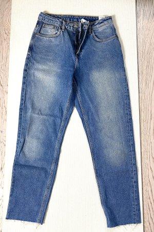 H&M Vaquero estilo zanahoria azul