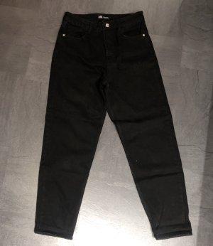Mom-Jeans (neu) Schwarz