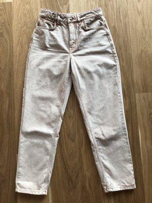 Drykorn Pantalone a vita alta rosa pallido-color oro rosa Cotone