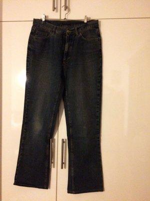 Sisley Mom-Jeans blue