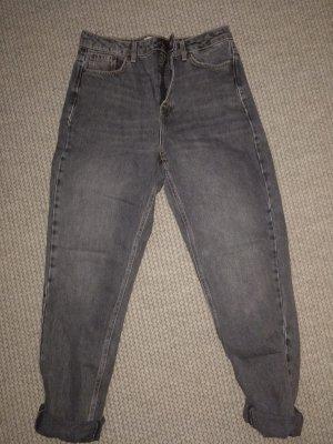 Topshop Boyfriend Jeans dark grey-anthracite