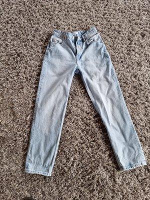 Zara Hoge taille broek azuur