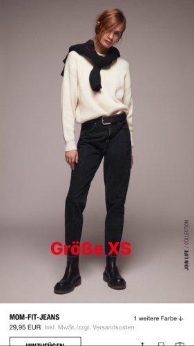 Zara Boyfriend jeans grijs-zwart