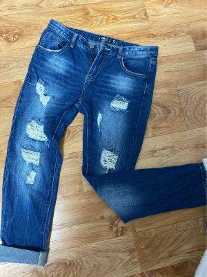 New Yorker Jeans taille haute gris ardoise