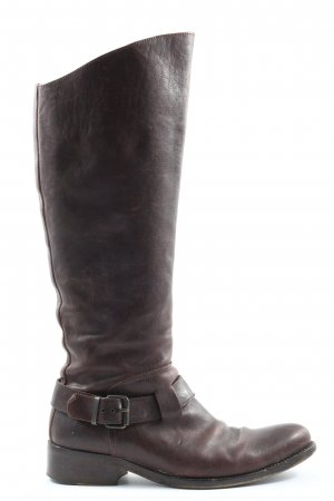 Moma Absatz Stiefel braun Casual-Look