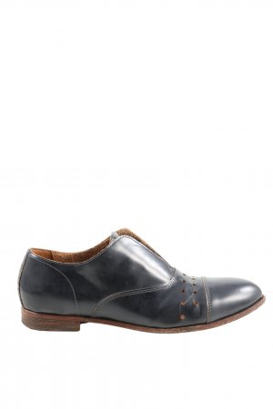 Moma Zapatos Oxford con puntera negro estilo «business»