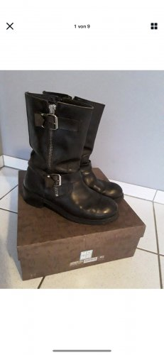 Moma Wide Calf Boots black