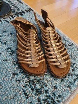 Momino Sandalias cómodas color bronce