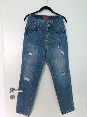 s.Oliver Jeans boyfriend bleu