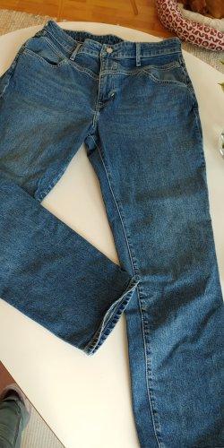 HM Boyfriend jeans blauw