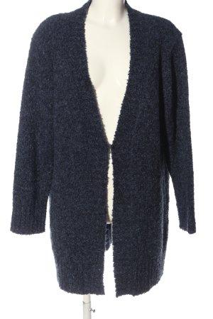 Mona Cardigan blau meliert Casual-Look