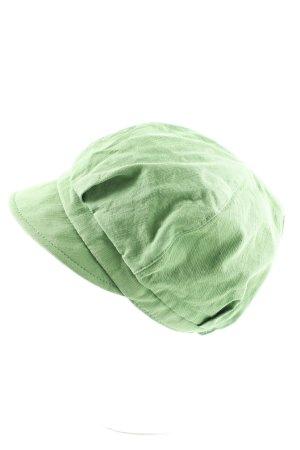 Mona Lenz Ballonmütze grün Casual-Look