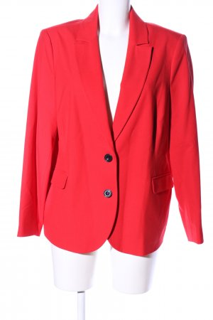Mona Long-Blazer rot Business-Look