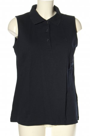 Mona Polo-Shirt schwarz Casual-Look