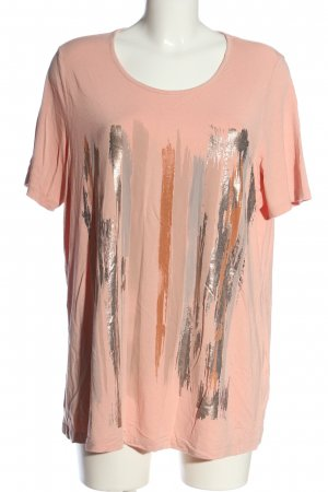 Mona Print Shirt nude abstract pattern casual look