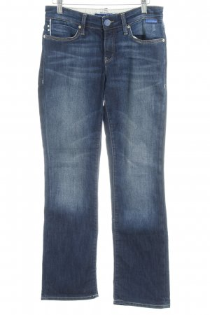 "Mona Straight-Leg Jeans ""blue edge"""