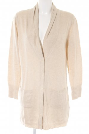 Mona Strick Cardigan hellbeige Casual-Look