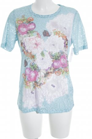 Mona T-Shirt florales Muster Casual-Look