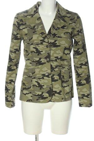 Mona Übergangsjacke Camouflagemuster Casual-Look