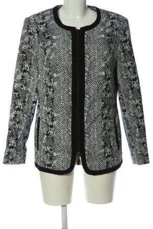 Mona Übergangsjacke weiß-schwarz Casual-Look