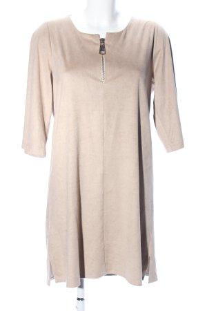 MONACO blue A-Linien Kleid wollweiß Casual-Look
