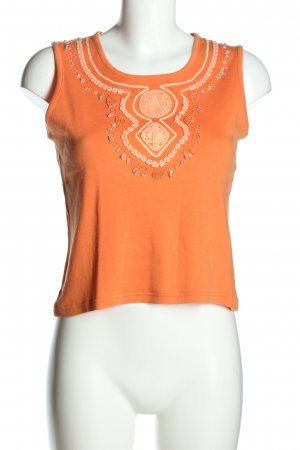 Monari Basic Top hellorange Casual-Look