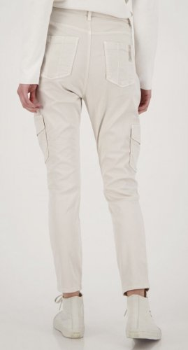 Monari Pantalone cargo beige chiaro