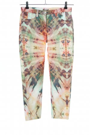 Monari Pantalon cinq poches motif abstrait style décontracté
