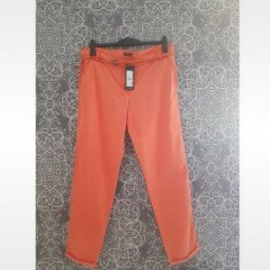 Monari Jeans cigarette abricot