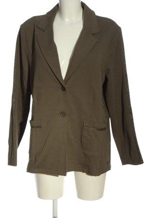 Monari Jersey blazer khaki zakelijke stijl