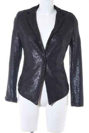 Monari Kurz-Blazer schwarz extravaganter Stil