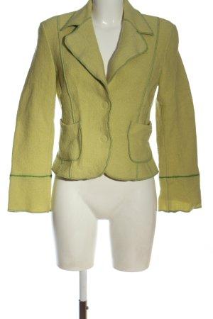 Monari Giacca corta giallo pallido stile casual