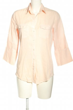 Monari Langarm-Bluse creme Business-Look