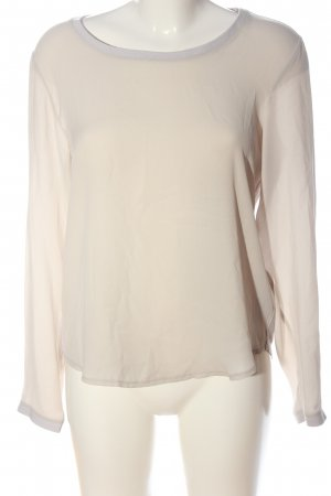 Monari Long Sleeve Blouse cream elegant