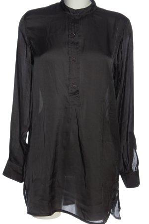 Monari Long-Bluse schwarz Casual-Look