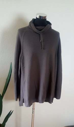 Monari Oversized Sweater anthracite-taupe