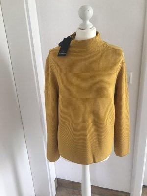 Monari Crewneck Sweater gold orange-cognac-coloured