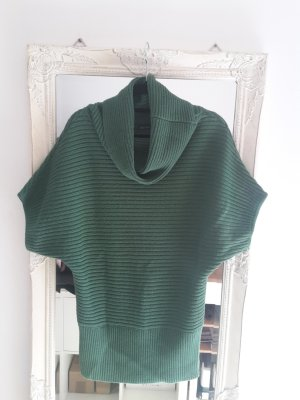 Monari Long Cardigan forest green new wool