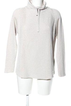 Monari Maglione dolcevita argento-grigio chiaro stile professionale