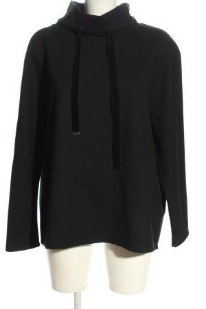 Monari Rollkragenshirt schwarz Casual-Look