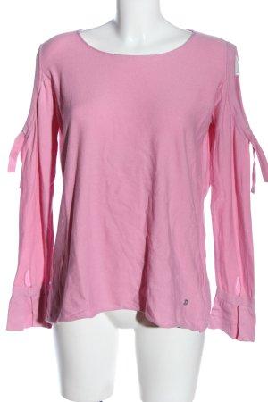 Monari Rundhalspullover pink Casual-Look